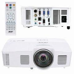 Проектор ACER S1283Hne, DLP, 1024x768, 4:3, 3100 лм, 13000:1, короткофокусный, 2,8 кг