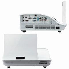 Проектор ACER U5213, DLP, 1024x768, 4:3, 3000 лм, 10000:1, ультракороткофокусный, 7,2 кг