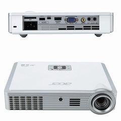 Проектор ACER K335, DLP, 1280x800, 16:10, 1000 лм, 10000:1, LED, 1,3 кг