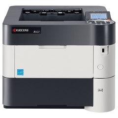 Принтер лазерный KYOCERA ECOSYS P3060dn, А4, 60 стр./мин., 275000 стр./мес., ДУПЛЕКС, сетевая карта