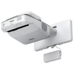 Проектор EPSON EB-670, LCD, 1024x768, 4:3, 3100 лм, 14000:1, ультракороткофокусный, 5,8 кг