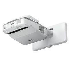Проектор EPSON EB-680Wi, LCD, 1280x800, 16:10, 3200 лм, 14000:1, ультракороткофокусный, 5,8 кг