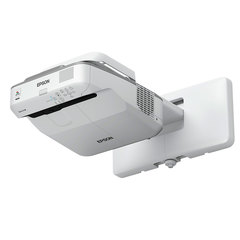 Проектор EPSON EB-675Wi, LCD, 1280x800, 16:10, 3200 лм, 14000:1, ультракороткофокусный, 5,8 кг