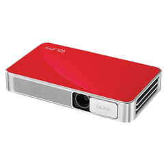 Проектор VIVITEK Qumi Q3 Plus, DLP, 1280x720, 16:9, 500 лм, 5000:1, LED, мобильный, 0,46 кг, красный