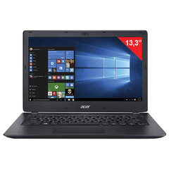 "Ноутбук ACER TMP238, 13,3"", INTEL Core i3-6006U 2 ГГц, 4 ГБ, SSD 128 ГБ, NO DVD, Windows 10 Home, черный"