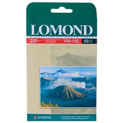 Фотобумага LOMOND для струйной печати, 10х15 см, 230 г/м2, 50 л., односторонняя, глянцевая, 0102035