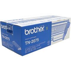 Картридж лазерный BROTHER (TN2075) HL-2030R/MFC-7420/FAX-2825 и другие, оригинальный, 2500 стр.