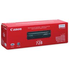 Картридж лазерный CANON (728) MF4410/4430/4450/4550dn/4570dn/4580dn, оригинальный, ресурс 2100 стр.