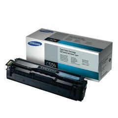 Картридж лазерный SAMSUNG (CLT-C504S) CLX-4195FN/4195FW и CLP-415N и др., ориг., голубой, 1800 стр.