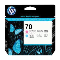 Головка печатающая для плоттера HP (C9405A) DesignJet Z2100/Z3100, №70, светло-пурпурная и светло-голубая, оригинальная