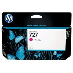 Картридж струйный для плоттера HP (B3P20A) Designjet T920/1500, №727, пурпурный, 130 мл, оригинальный