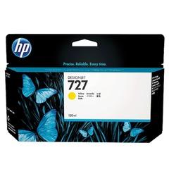 Картридж струйный для плоттера HP (B3P21A) Designjet T920/1500, №727, желтый, 130 мл, оригинальный