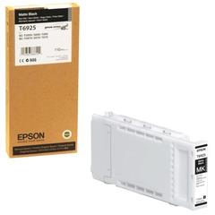 Картридж струйный для плоттера EPSON (C13T692500) Epson SC-T3200/5200 и др., черный, 110 мл, для матовой бумаги, оригинальный