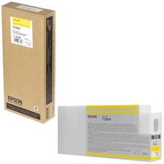 Картридж струйный для плоттера EPSON (C13T596400) Epson StylusPro 7890 и др., желтый, 350 мл, оригинальный