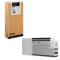 Картридж струйный для плоттера EPSON (C13T596100) Epson StylusPro 7890 и др., черный, для глянцевой бумаги, 350 мл, оригинальный