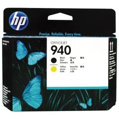 Головка печатающая для плоттера HP (C4900A) OfficeJet Pro 8000/8500, №940, черная и желтая, оригинальная