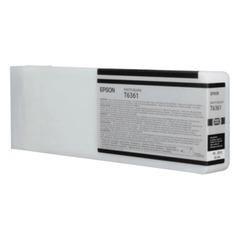 Картридж струйный для плоттера EPSON (C13T636100) Stylus Pro 7890 и другие, черный глянцевый, оригинальный, увелич. емк. 700 мл