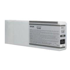 Картридж струйный для плоттера EPSON (C13T636800) Stylus Pro 7890 и другие, черный матовый, оригинальный, увеличенной емк., 700 мл