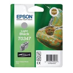 Картридж струйный EPSON (C13T03474010) Stylus Photo 2100, серый, оригинальный