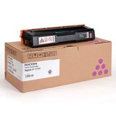 Картридж лазерный RICOH (407644) SPС220S/C221SF и другие, пурпурный, оригинальный, ресурс 2000 стр.