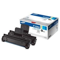 Картридж лазерный SAMSUNG (MLT-P108A) ML-1640/2240, оригинальный, комплект 2 шт., ресурс 2х3000 стр.