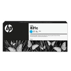 Картридж струйный для плоттера HP (CZ695A) HP Latex 310/330/360/370, №831c, голубой, 775 мл, оригинальный