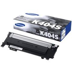 Картридж лазерный SAMSUNG (CLT-K404S) SL-C430/C430W/C480/C480W и другие, оригинальный, черный, ресурс 1500 страниц
