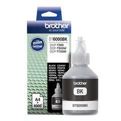 Чернила BROTHER (BT-6000BK) для СНПЧ Brother DCP-T500W\T700W\T300, черные, ресурс 6000 стр., оригинальные