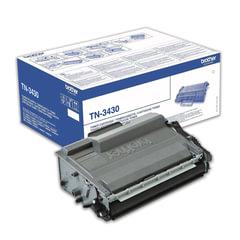 Картридж лазерный BROTHER (TN3430) HL-L5000D/5100DN/5200DW/6400DW\DCP-L6600 и другие, оригинальный, ресурс 3000 стр.