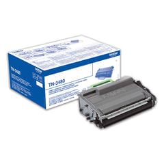 Картридж лазерный BROTHER (TN3480) HL-L5000D/5100DN/5200DW/6400DW\DCP-L6600 и другие, оригинальный, ресурс 8000 стр.