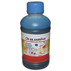 Чернила CANON / EPSON / HP / LEXMARK универсальные, голубой, 0,25 л, водные, COLOURING, СОВМЕСТИМЫЕ