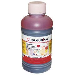Чернила CANON / EPSON / HP / LEXMARK универсальные, пурпурный, 0,25 л, водные, COLOURING, СОВМЕСТИМЫЕ
