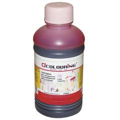 Чернила CANON / EPSON / HP / LEXMARK универсальные, светло-пурпурный, 0,25 л, водные, COLOURING, СОВМЕСТИМЫЕ