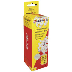 Заправочный комплект HP \ LEXMARK универсальный, желтый, 0,03 л, водный, COLOURING, СОВМЕСТИМЫЙ