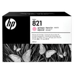 Картридж струйный HP (G0Y91A) Latex 110 Printer №821, цвет светло-пурпурный, оригинальный 400 мл.