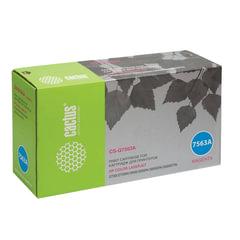 Картридж лазерный HP (Q7563A) ColorLaserJet 2700/3000, пурпурный, ресурс 3500 стр., CACTUS, совместимый