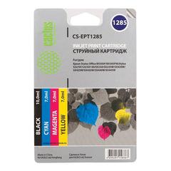 Картридж струйный EPSON (EPT1285) Stylus SX1, комплект, черный/голубой/пурпурный/желтый, CACTUS, совместимый