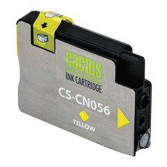 Картридж струйный HP (CN056AE) OfficeJet 6100/6600/6700, №933XL, желтый, 14 мл, CACTUS совместимый