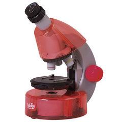 Микроскоп детский LEVENHUK LabZZ M101 Orange, 40-640 кратный, монокулярный, 3 объектива