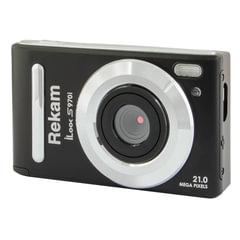 """Фотоаппарат компактный REKAM iLook S970i, 21 Мп, 8x zoom, 3"""" ЖК-монитор, HD, черный матовый"""