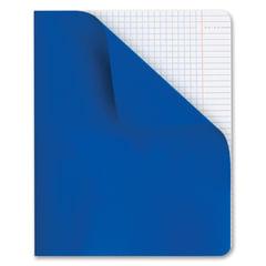"""Тетрадь 48 л., HATBER, клетка, полимерная обложка, """"Синий"""", 48Т5С1"""