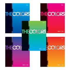"""Тетрадь 48 л., HATBER, клетка, металлизированный картон, """"The Colors"""""""