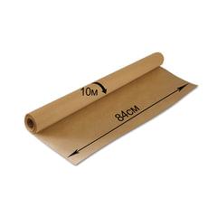 Крафт-бумага для упаковки, 840 мм х 10 м, 78 г/м2, в рулоне, BRAUBERG