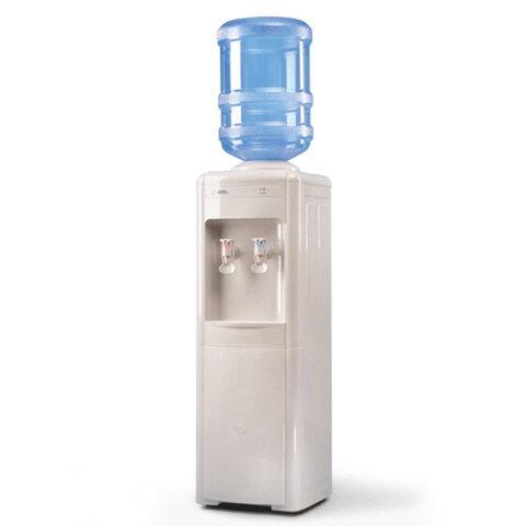 Кулер для воды AEL LC-AEL-16b, напольный, нагрев/охлаждение, холодильный шкаф, 2 крана