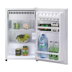 Холодильник DAEWOO FR-081AR, общий объем 88 л, морозильная камера 12 л, 44x45,2x77,6 см, белый