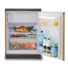 Холодильник INDESIT TT 85.005, общий объем 122 л, морозильная камера 14 л, 60x62x85 см, цвет дерево