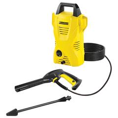 Минимойка KARCHER (КЕРХЕР) K2 Basic, мощность 1,4 кВт, давление 110 бар, шланг 3 м, 1.673-150/155.0