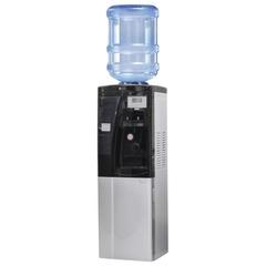 Кулер для воды AEL LC-AEL-440Bd, напольный, нагрев/охлаждение, холодильный шкаф 16 л, подстаканник, 2 крана