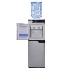 Кулер для воды AEL LC-AEL-301bd, напольный, нагрев/охлаждение, холодильный шкаф 50 л, 2 крана, серебристый