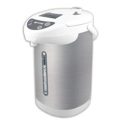 Термопот VITEK VT-1196, 4 л, 750 Вт, 1 температурный режим, 3 режима подачи воды, нержавеющая сталь, белый/серебристый